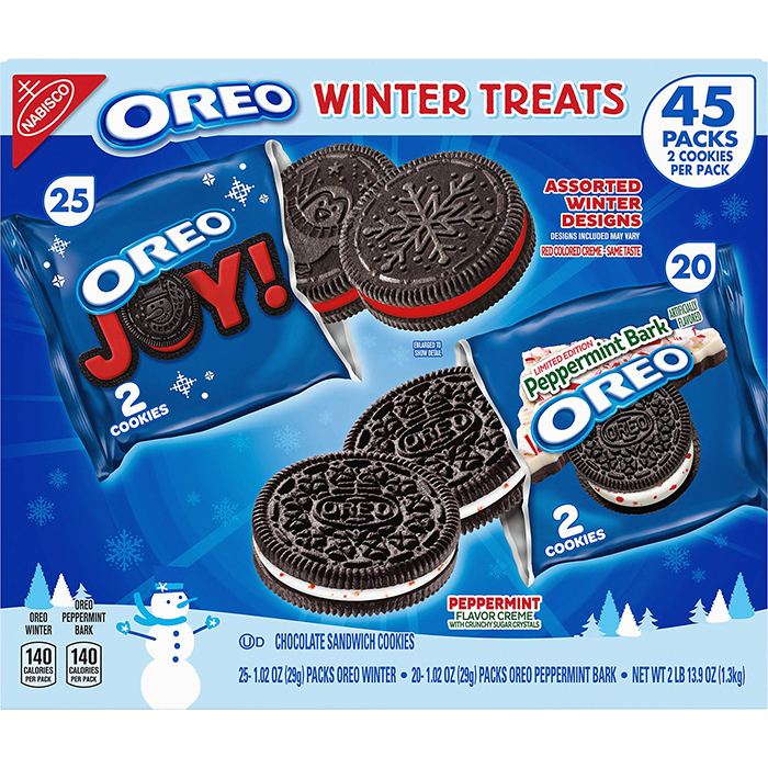 Oreo Winter Treats Packaging