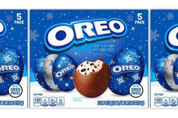 Oreo chocolate eggs