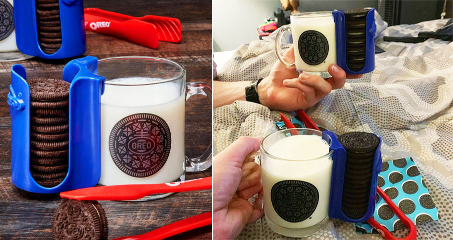 The Oreo Mug Sleeve Is A Cookie Dunking Game Changer