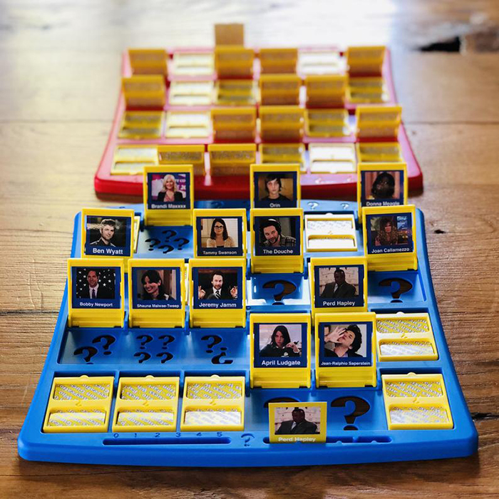 Parks and Recreation Guess Who Board Game 2