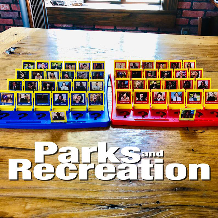 Parks and Recreation Guess Who Board Game