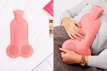 Penis-Shaped Hot Water Bottle