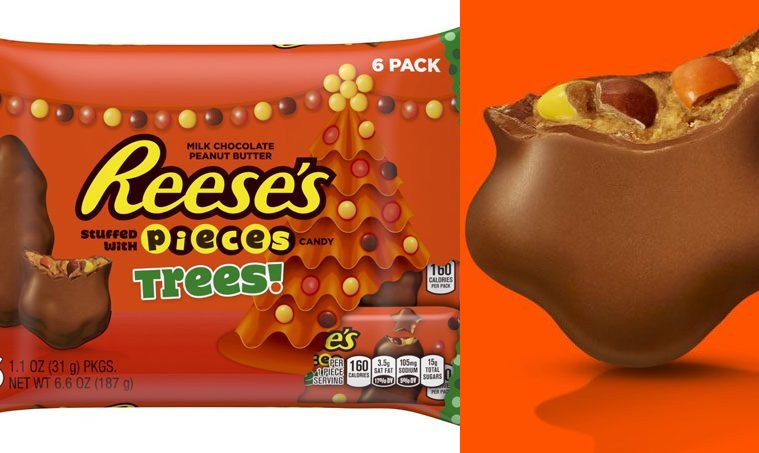 Reese's Peanut Butter Holiday Trees