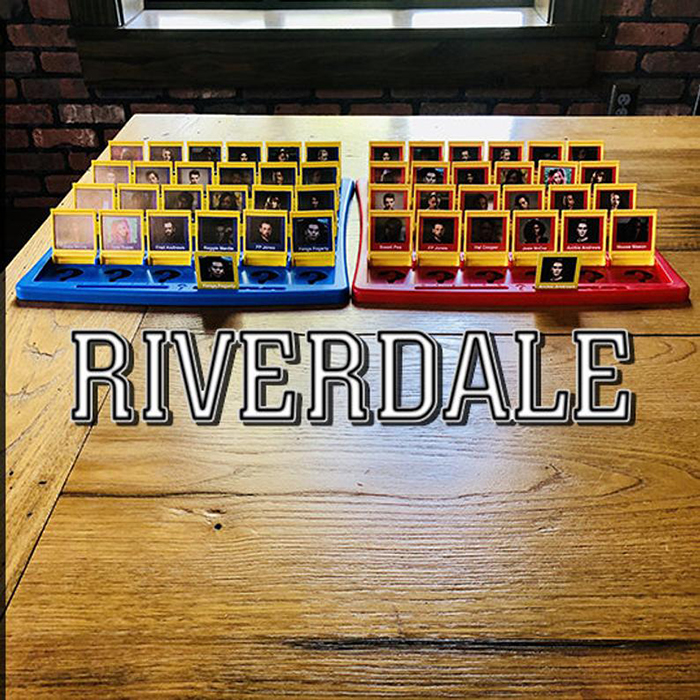 Riverdale Guess Who Board Game