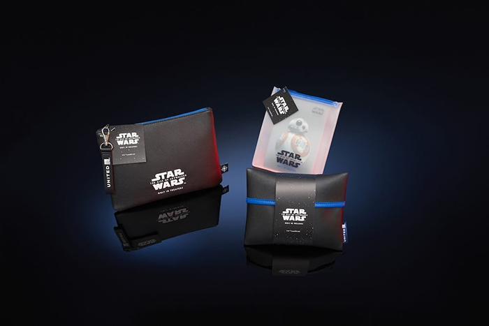 Star Wars-themed Amenity Kits for Passengers