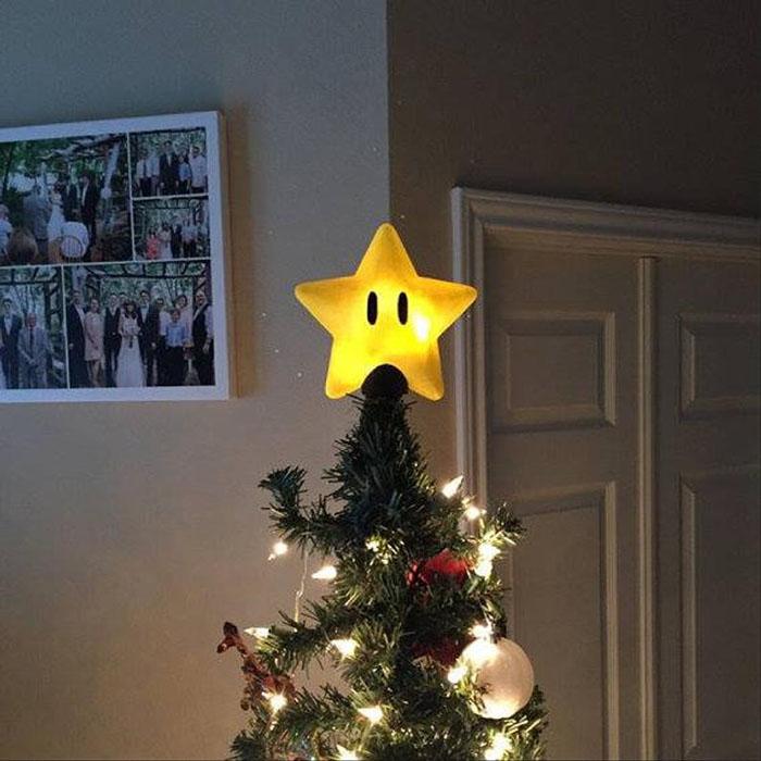 Super Mario Tree Topper