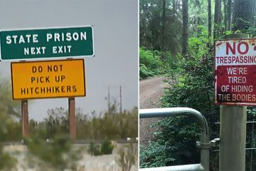 Threatening signs