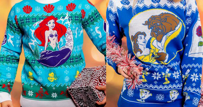 Ugly Disney Christmas Sweaters