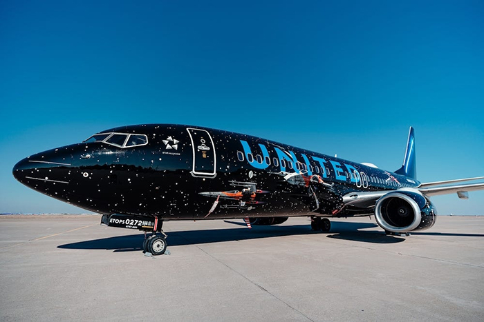United Airlines' Star Wars Plane