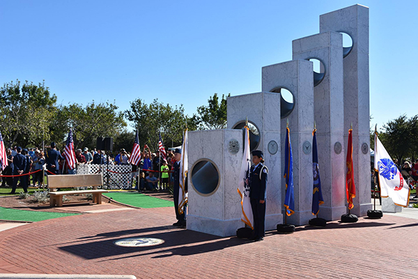 Veterans Day 2016 at the Anthem Veterans Memorial