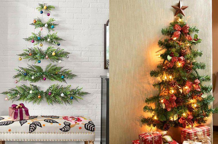 Wall-Mounted Christmas Tree