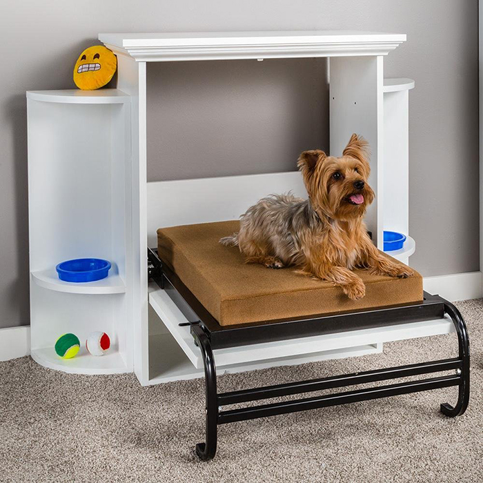 bed and cabinet for dogs