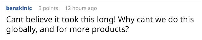 benskinic Reddit Comment