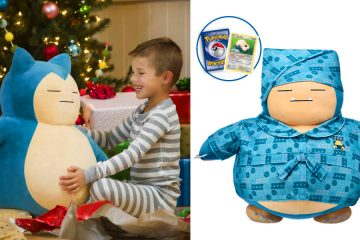 build a bear snorlax