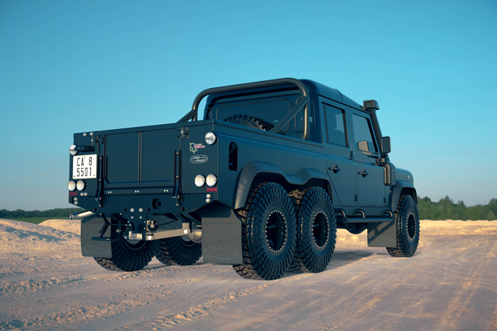 classic overland customizes land rover defender