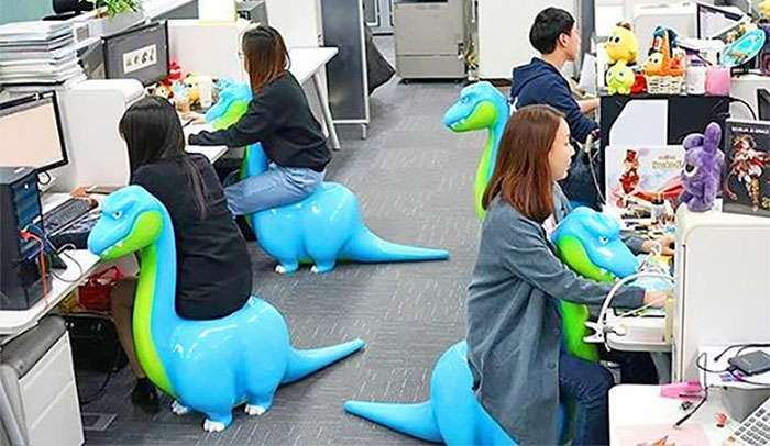 dinosaur office chairs