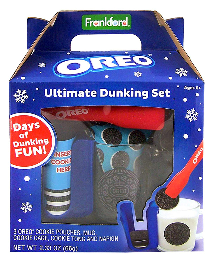 dunking set with oreo mug sleeve