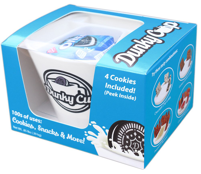 dunky cup blue packaging