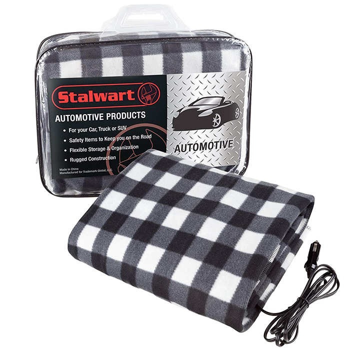 electric heated driving blanket with cord