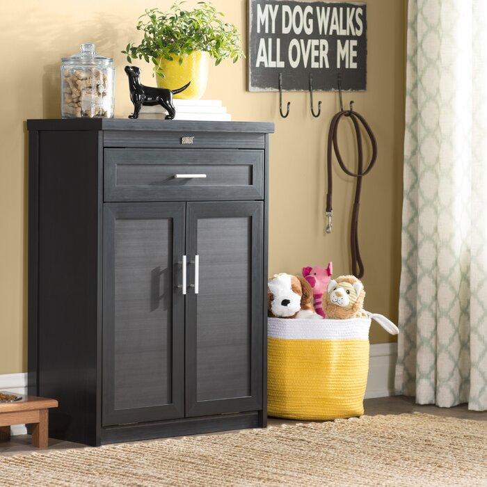 fold-up murphy dog bed cabinet folded up
