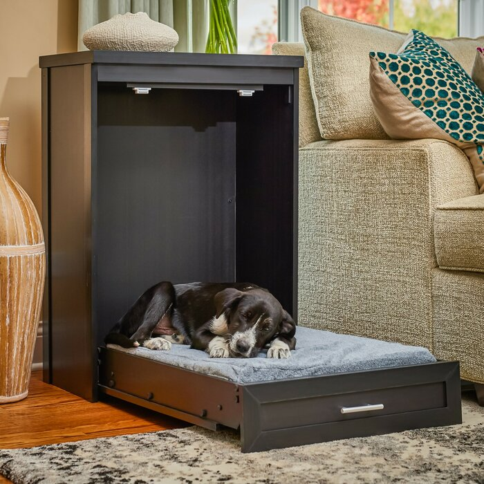 fold-up murphy dog bed cabinet saves space