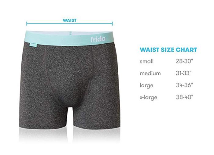 fridaballs waist size chart
