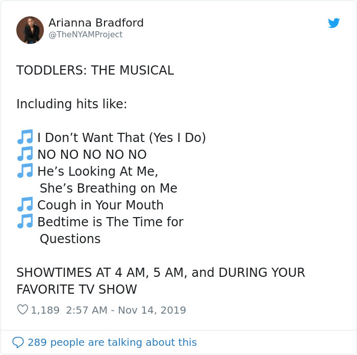 funny parenting struggles toddlers the musical