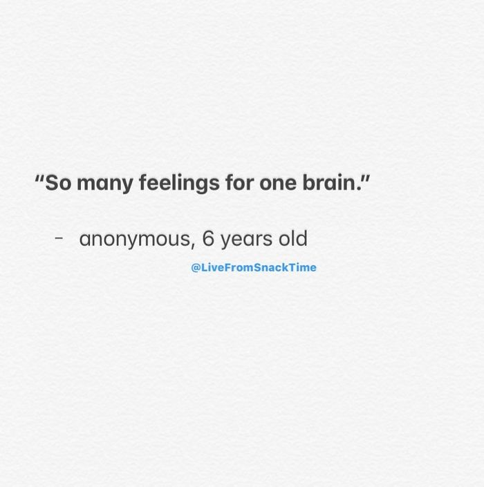 funny things kids say one brain