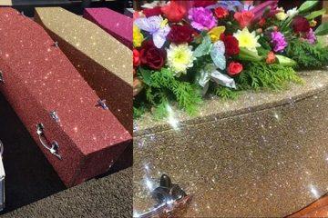 glitter coffins