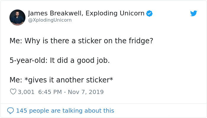 hilarious parent tweets fridge did a good job
