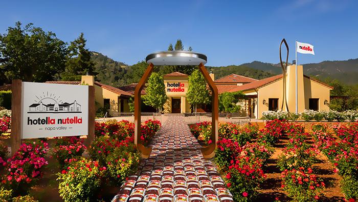 hotella nutella garden