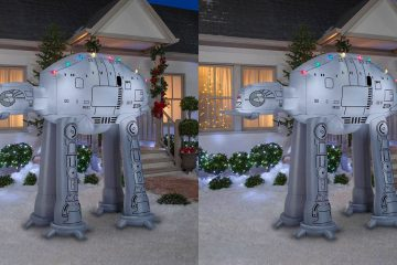 inflatable Star Wars AT-AT