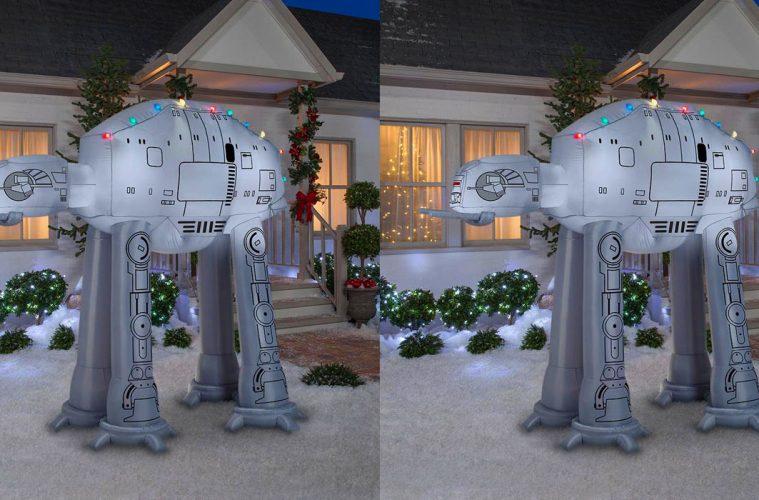 inflatable Star Wars AT-AT