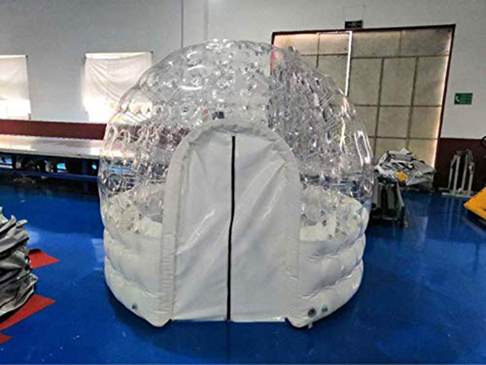 inflatable hot tub solar dome tent