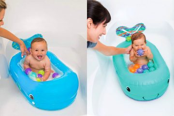 inflatable whale baby Bathtub