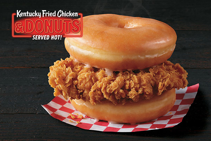 kfc fried chicken and donuts