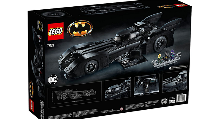 lego batmobile back of the box
