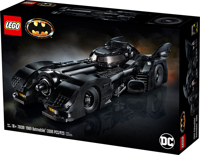 lego batmobile box