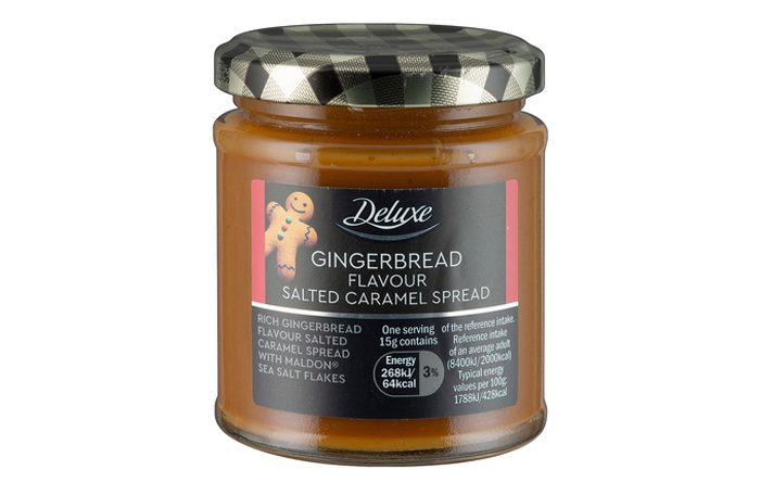 lidl deluxe spreads gingerbread flavor