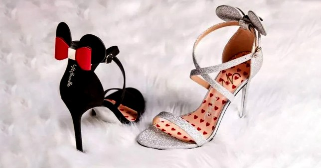 Dazzling Minnie Mouse Heels Are Back In