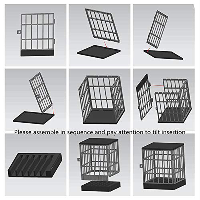 mobile phone jail assembly