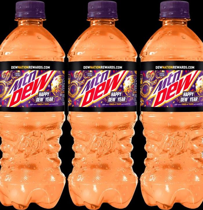 mountain dew peach flavor wiki