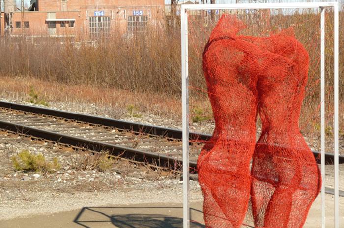 nadia zubareva steel wire sculptures dancers