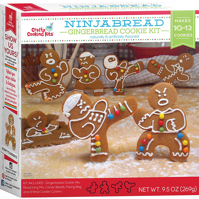 ninjabread cookie cutters kit