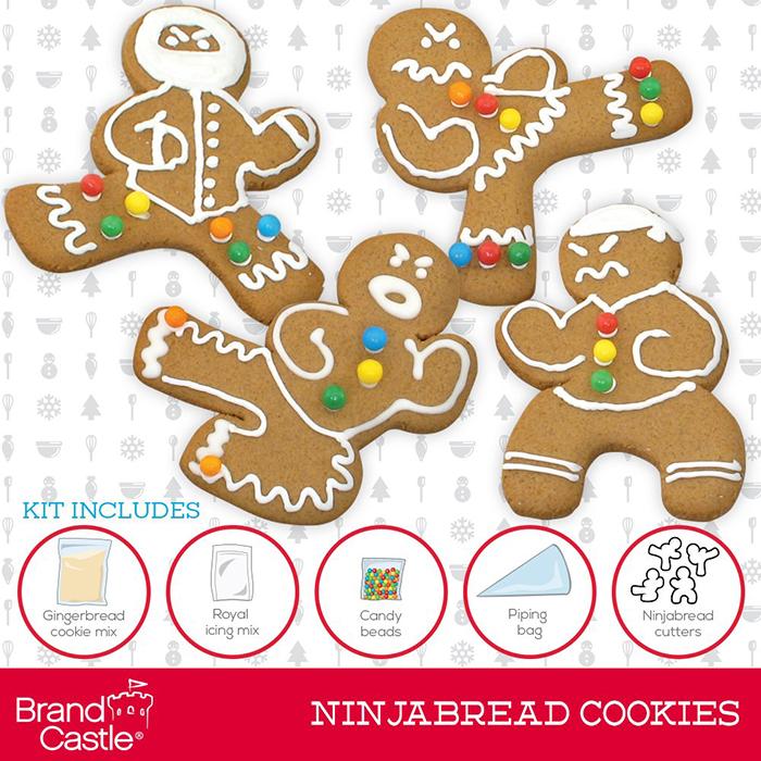 ninjabread cookie cutters
