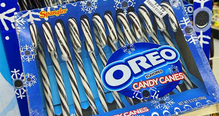 oreo candy canes