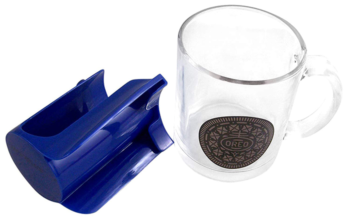 oreo mug sleeve set glass mug