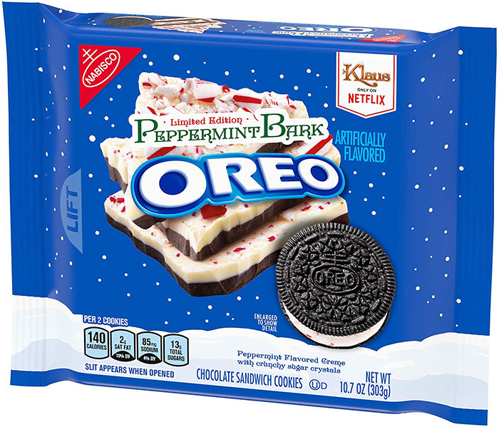 peppermint bark oreo flavors