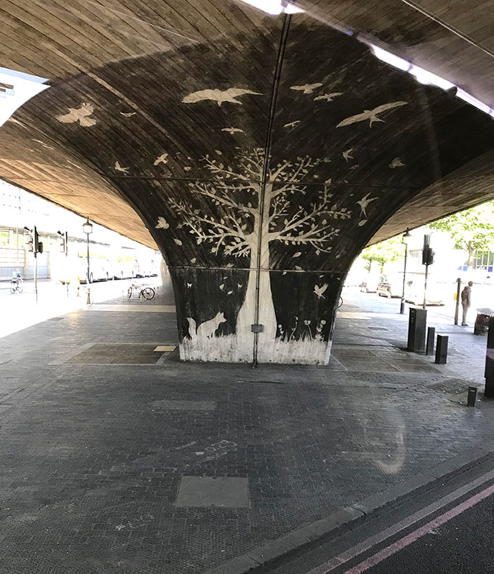 power washing transformations art piece london