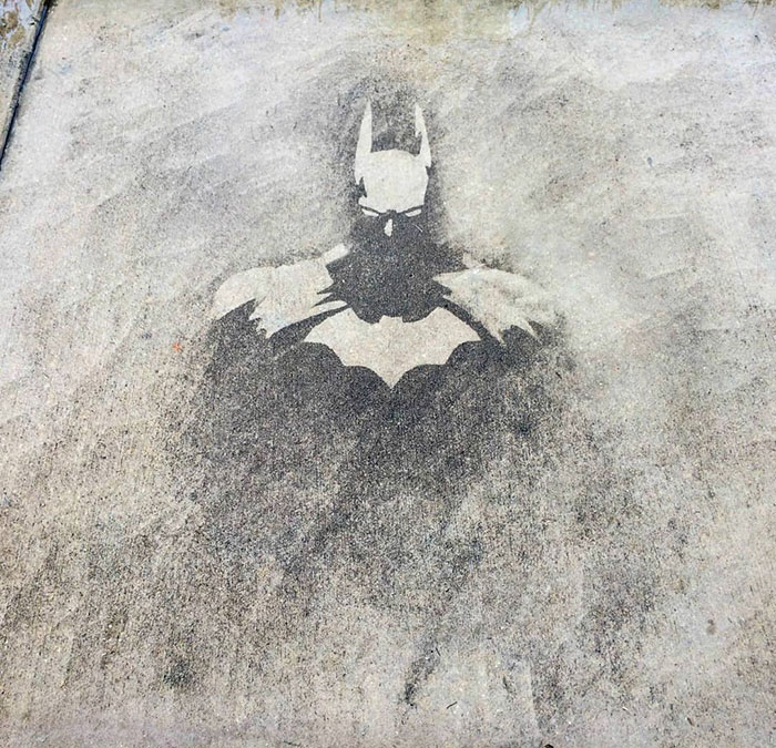 power washing transformations batman pavement